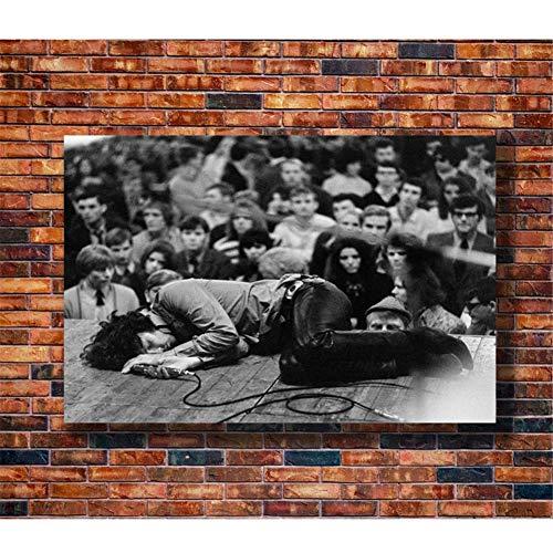 nr Plakate und Drucke DIE TÜREN American Rock Jim Morrison Kunstplakat Leinwand Malerei Wohnkultur50x70cm ungerahmt