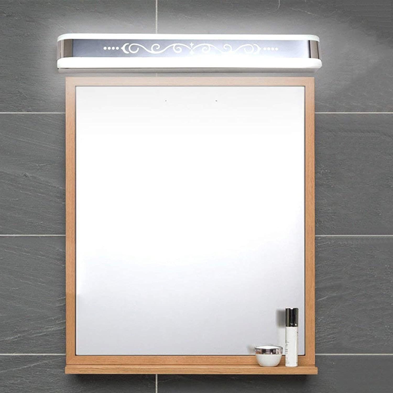 Vordere Scheinwerfer LStainless Stahl Spiegel Bad Spiegel Lampen Flur Wand Lampe (Gre  53 cm 10 W)