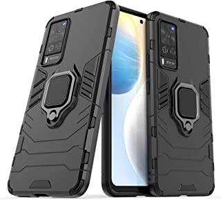 TenDll Case for Samsung Galaxy F12,TPU&PC Hybrid Armor Case Removable 2 in 1 Rugged Double Case,Built-in Kickstand, Cover ...