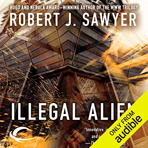 Illegal Alien audiobook cover art