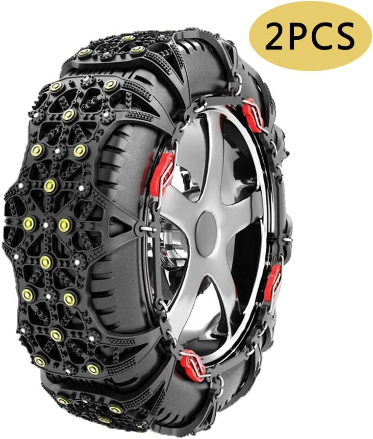 AOHMG Snow Chains for Car Tires T Portable Anti Thickening Max Max 63% OFF 42% OFF Slip