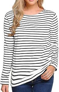 Best women's striped long sleeve tee shirts Reviews