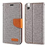 Huawei Honor 7i Case, Oxford Leather Wallet Case with Soft