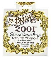 LA BELLA ラベラ クラシックギター弦 2001 Classical - Medium Tension