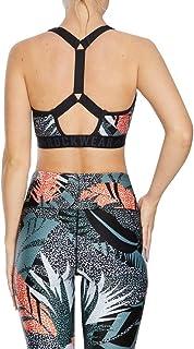 Rockwear Activewear Women's Nala Mi Zip Blocked Bra Nala 6 From size 4-18 Medium Impact Bras For