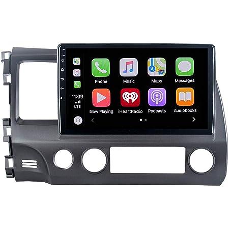 "ViaBecs 10.2"" Android 10.0 Bluetooth 5.0 Car Radio Touchscreen for Honda Civic Year 2006-2011 1 Din Car Stereo Apple Carplay 1280x720 Support WiFi FM/AM Car Audio Handsfree Calling 4GB 64GB DSP"