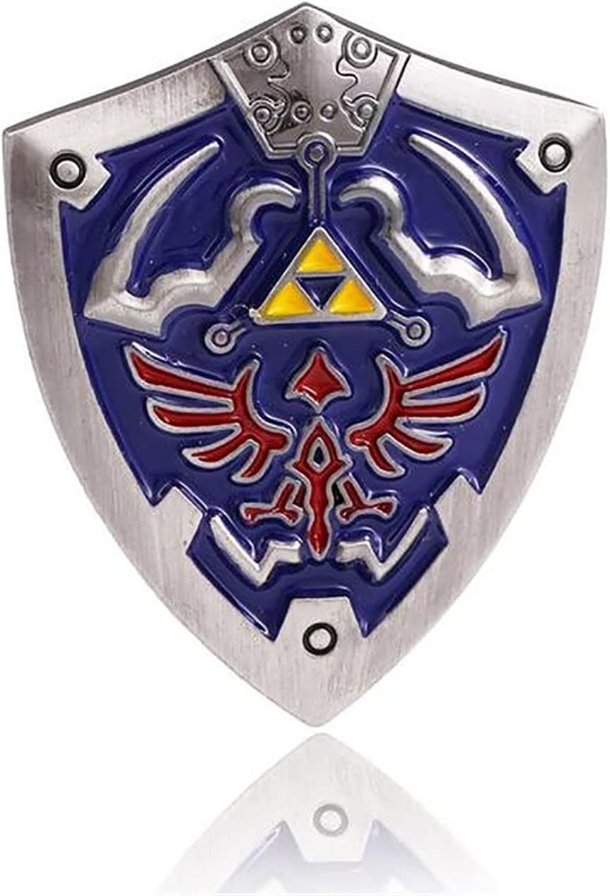 Triforce Shield Pins For Game The mart Zelda Legend Fans of Brooches Tampa Mall