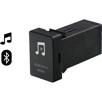 TOYOTA トヨタ車系用 Bluetooth 4.0 音楽アダプタモジュール 受信機 AUX出力