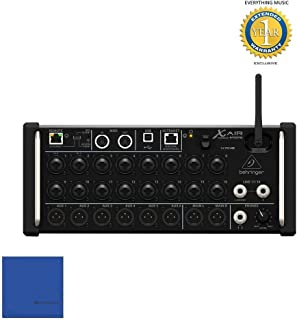 Behringer X Air XR18 Tablet-controlled Digital Mixer with Microfiber and 1 Year Everything Music Extended Warranty