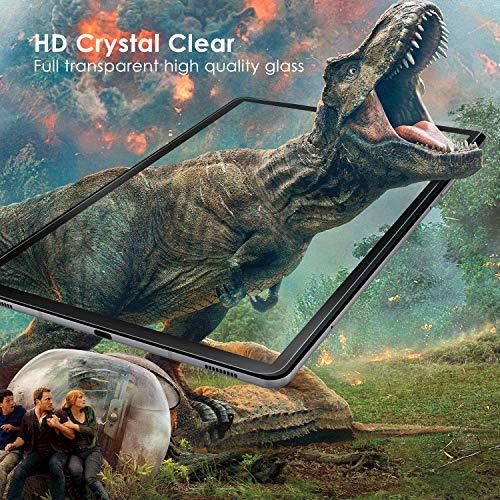 Simpeak 2-Stück Panzerglas Schutzfolie Kompatibel für Samsung Galaxy Tab S6 2019/Tab S5e 10.5 2019 [2 Pcs], Hartglas Tempered Glass Screen Protector Kompatibel mit Galaxy Tab S6 - Transparent