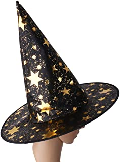 Black Witch Hat Halloween Costume Accessory