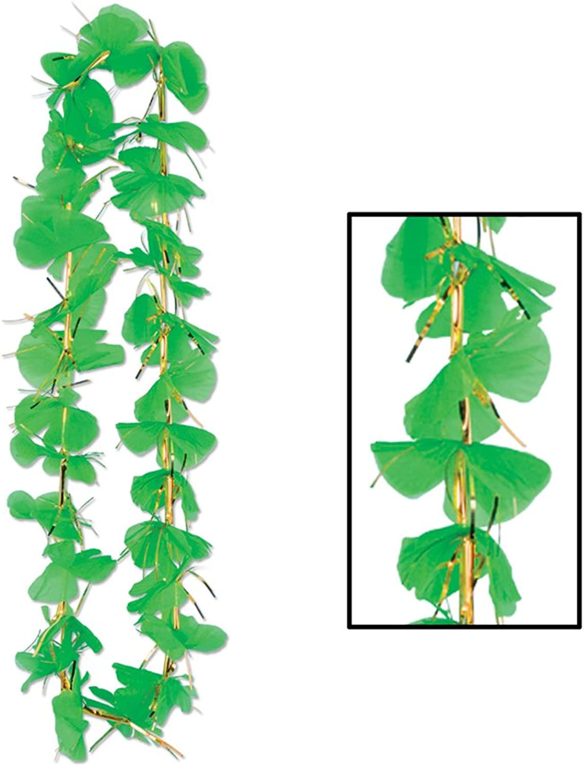 Beistle Party Supplies Shamrock Party Lei 36   Pack of 12