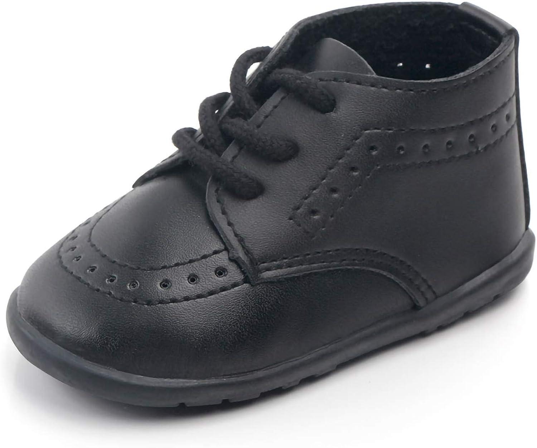 Quernn Baby Loafers Infant Toddler Boys Girls Prewalker Moccasin Crib Shoes