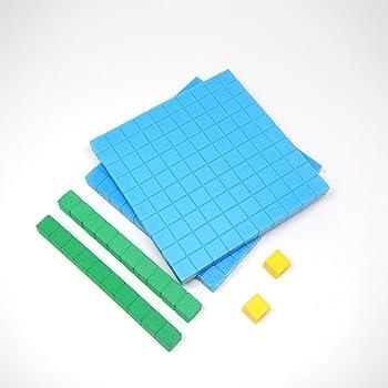 ETA hand2mind Base Ten Blocks Starter Set, Set of 44