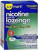 Sunmark Sunmark Nicotine Polocrilex Lozenge, Mint 72 each 4 mg by Sunmark