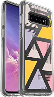 OtterBox SYMMETRY CLEAR SERIES Case for Galaxy S10 - Retail Packaging - LOVE TRIANGLE