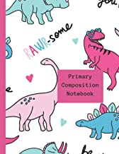 Primary Composition Notebook: A Blank Picture Space on Top and Primary Ruled Lines on the bottom of the Page. 100 Pages - ...