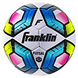 Franklin Sports Futsal Ball - Junior Size Futsal Soccer Ball - Indoor and Outdoor Futsal Ball - Size 3