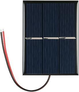 Leepesx Polykristallijn siliconen zonnepaneel, 0,65 W, 1,5 V, voor doe-het-zelf power-oplader, 60 x 80 mm