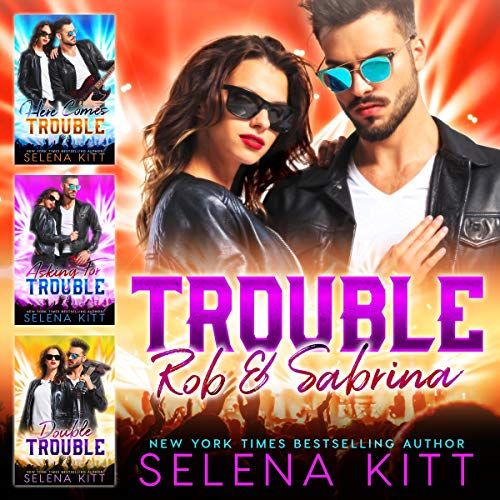 Trouble: Rob & Sabrina: Boxed Set audiobook cover art
