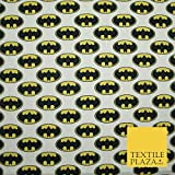 Batman Badge Logo Digital Gedruckt 100% Baumwolle Stoff