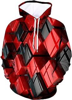 Xmiral T-Shirt Top Blouse Uomo T-Shirt Manica Corta con Stampa 3D Moda Uomo Maniche Corte