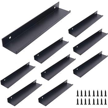 SALliang - Tirador de puerta de aleación de aluminio para cajones y armarios de cocina, moderno y oculto: Amazon.es: Bricolaje y herramientas