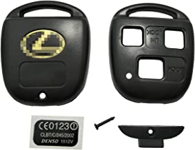 LibraCompany Replacement for Lexus Key Fob Remote Shell Case Cover Key Fob Cover Housing Fit for Lexus ES GS GX is LS LX RX SC FCC-1 Pack (Only Casing)