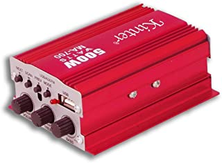 BES 16694 wzmacniacz audio 12 V FM Usb MP3 2 kanały stereo pilot zdalnego sterowania