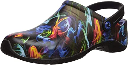 AnyWear Women's Zone Health Care Professional Shoe, mystical illusion/Black, 10 Medium US