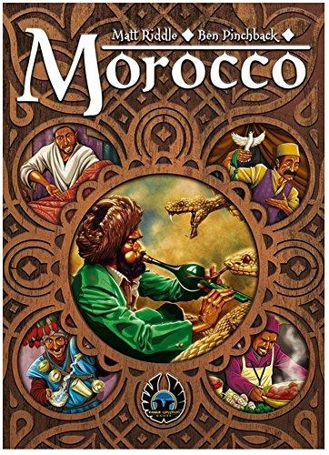 Eagle-Gryphon Games EAG01824 Brettspiel Morocco