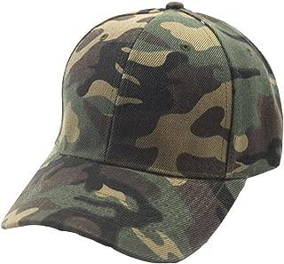 CHIDY Men Women Camouflage Baseball Cap Snapback Hat Hip-Hop Adjustable Unisex