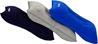 Aircee 3 Pieces Inflatable Travel Pillow for Camping, Home Office Sleeping, Head Neck Lumbar Support, Ultralight Portable ...
