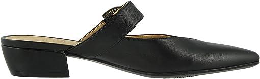 Black Croco Print Leather