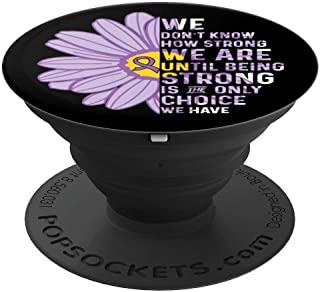 Crohns and Colitis Awareness Ribbons Mobile Stand - PopSockets Grip and Stand for Phones and Tablets