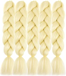 Forevery Braiding Hair Kanekalon Synthetic Ombre Hair Braiding Extensions High Temperature Fiber Crochet Twist Braids (24