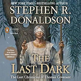 The Last Dark audiobook cover art