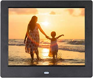 Photo Frame Ultra-Thin 8-inch high-Definition Digital, LED Electronic Photo Album, Video Player