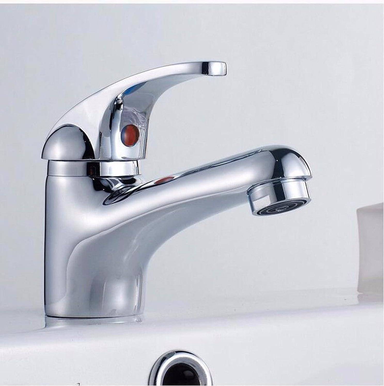 ETERNAL QUALITY Bad Waschbecken Wasserhahn Küche Waschbecken Wasserhahn Kupferner Einloch-Einhandgriff Hei Und Kalt Waschtischmischer BEG2607