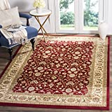 Safavieh Lyndhurst Collection LNH312A Traditional Oriental Red and Ivory Area Rug (5'3' x 7'6')