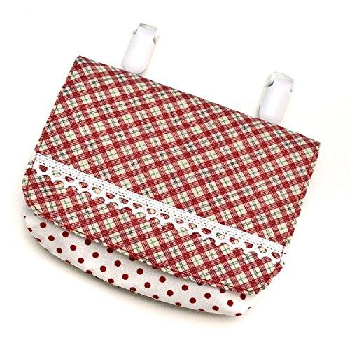 (レイラバッグストア) Layla bag store 移動ポケット 赤チェック