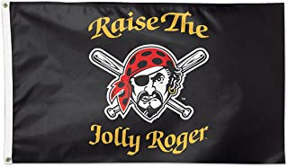 WinCraft MLB Pittsburgh Pirates 05263115 Deluxe Flag, 3' x 5'
