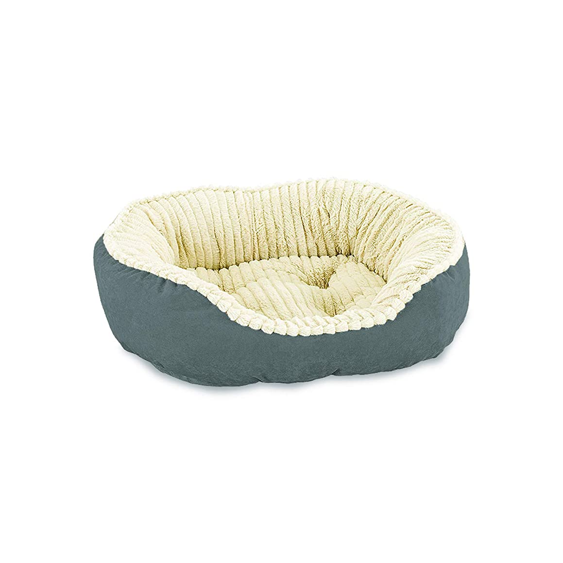 Ethical Pets Sleep Zone Carved Plush Pet Bed