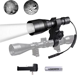 LUMENSHOOTER A8S Beam Adjustable 850nm Infrared IR Flashlight Light Night Vision Hunting Light Torch(It is not a Regular Light,Must Used with Night Vision Devices)
