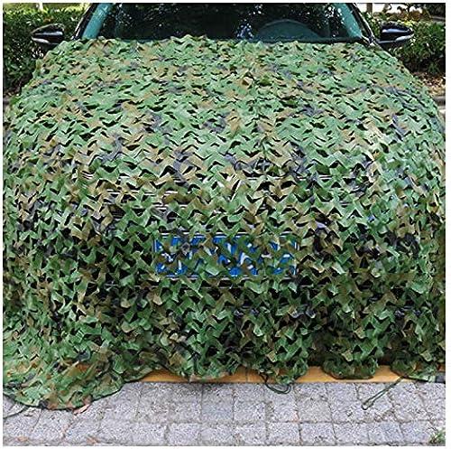 Filet De Camouflage, Tente en Tissu Oxford avec écran D'ombrage pour écran Solaire, Adapté à La Décoration De Jardin en Plein Air De L'armée De Voitures (Multi-Taille en Option)