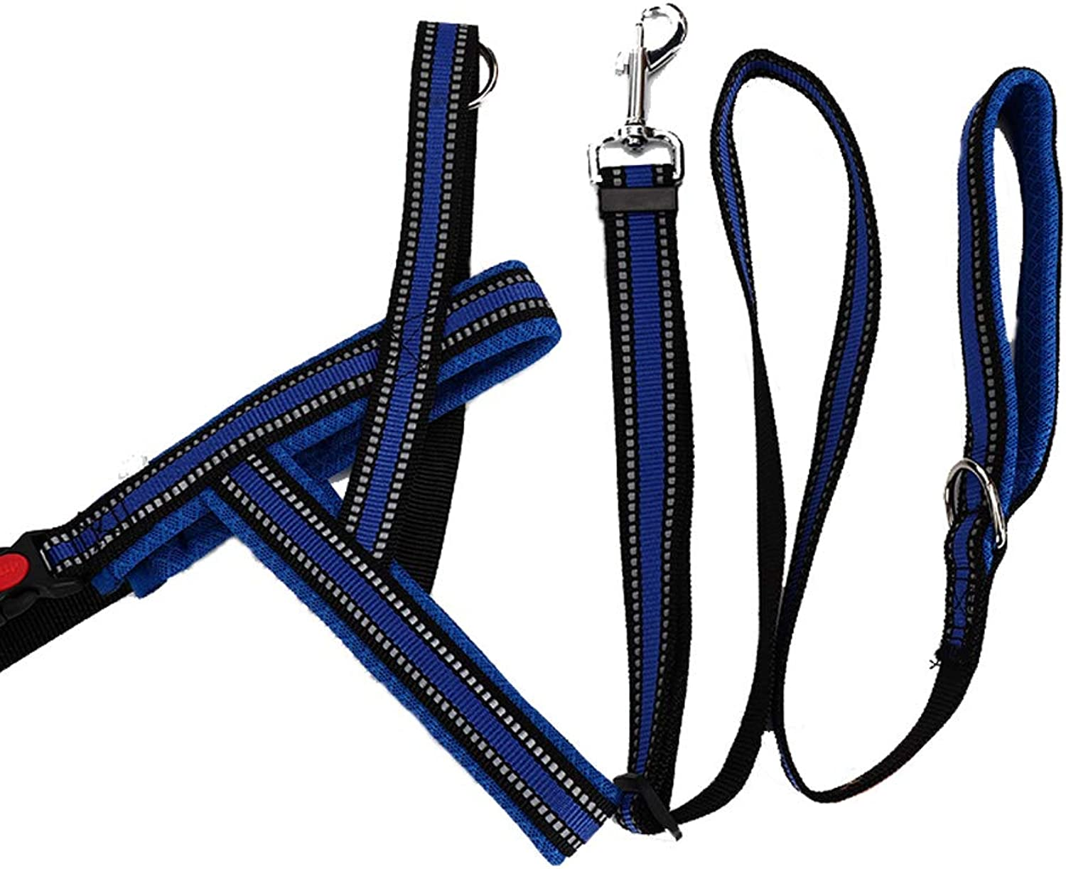 Pet Traction Rope,Adjustable Dog Harness, Reflective Cat Dog Harness Chest Strap Predection Dog Safe On Walks and Car Rides