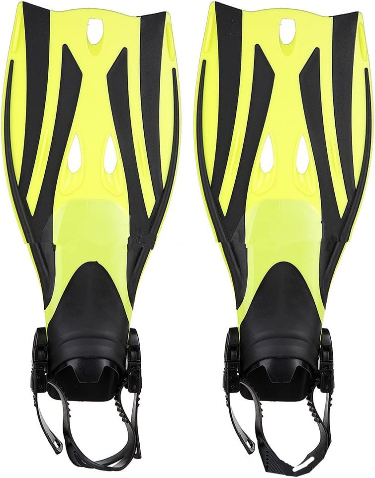 Teerwere Fin Full Foot Swimming Fins Lightweight Diving Fins for