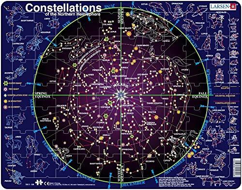 SS2 Constelaciones, edición en Inglés, Puzzle de Marco con 70 Piezas