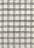 Momeni Rugs Maya Collection, Ultra Thick Pile Shag Area Rug, 5'3' x 7'6', Ivory