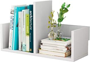 LHQ-HQ Kids Book Shelf Desktop Bookshelf Bureauka Boek Puin Opslag Rack Opbergrek Houten Boekenkast 40x16.5x13cm Boekstand